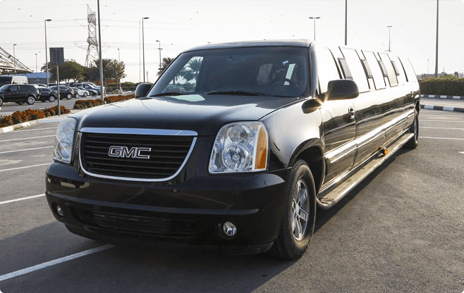 Berlin Limousines - GMC Yukon Super Stretch - Front View